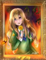 Mary from Ib: Little Doll's Dream by GothamGirlDC