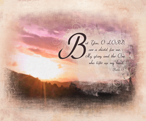 psalms 3:3f by madetobeunique