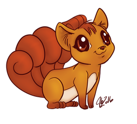 Vulpix by littlegenius13