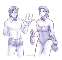 Sexy Waiters by ErinPtah