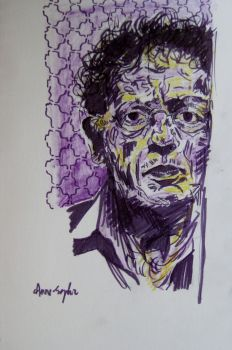 Philip Glass by dauwdrupje