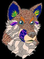 Mandala Husky by DemonaTheOperator