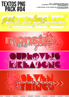 +.Textos PNG Pack#04 by xPEGASVS