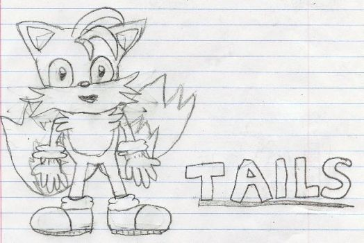 Tails Doodle by AlexKirby1989
