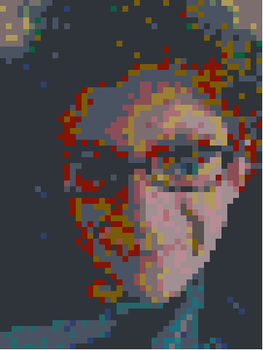 Yay 1000 pageviews! Here is a pixel art of me! by Camacaw