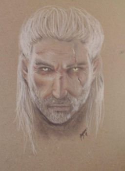 Geralt of Rivia by Jangsara