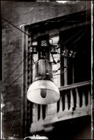 The Old Streetlight by Januine