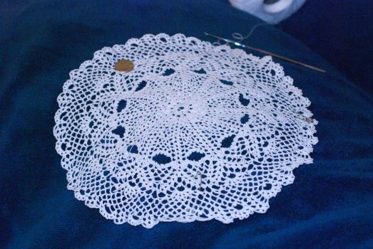 Small lace doily by kalany