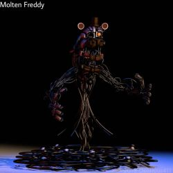 Molten Freddy Extra Render by Delirious411