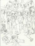 Pokespe Girls and Their Dolls by awesomeshadow773