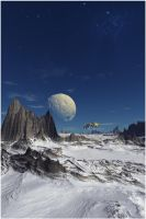 Escape From Hoth by Casperium