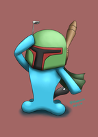 Request: Wobbuffet as Boba Fett