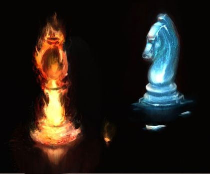 Fire and Ice Chess by ovn1