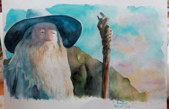 Gandalf the Grey by Narzissus