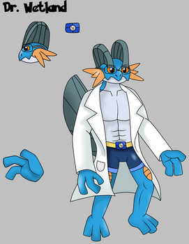 Dr. Wetland Marshman the Swampert by Draw-ze-Drawing