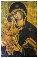 Madonna and child by deepgrounduk