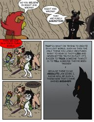 Flare and Fire: Good and Evil pg 53 by oogaboogaz