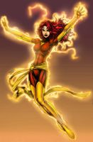 Phoneix version 2 Dark Phoenix by GreeneLantern