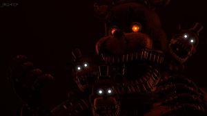 The First Nightmare (fnaf sfm) by JR2417