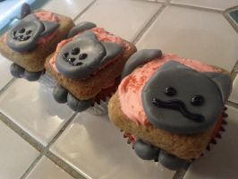 Nyan Cat Cupcakes by nhathy