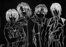 weiss kreuz: the hunters by shadoewhunter