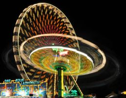 Big wheel at night by DynOpt