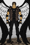 Maximum Ride OC: Geist (Update) by BryanTheBomb