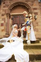 Wedding - Final Fantasy by Padfoot180991