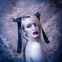 Ice eyes by vampirekingdom