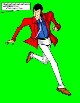 RUN LUPIN RUN by B9TRIBECA