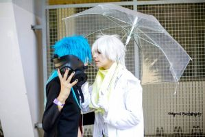 Clear and Aoba - Dramatical Murder 21 by Woshii