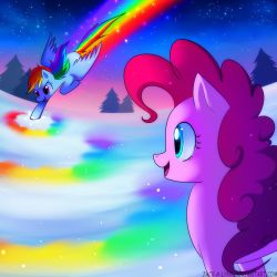 Spectral Rainbow by Jacky-Bunny
