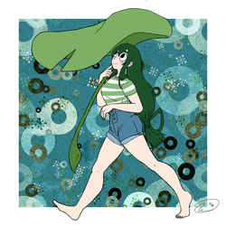 Tsuyu Asui  by wave4585