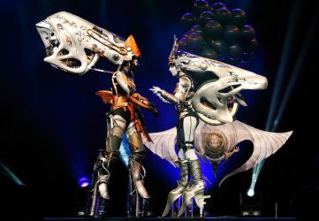 Shiva Sisters from Final Fantasy XIII by NikitaCosplay
