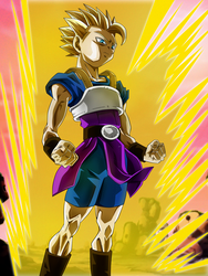 Unleash All Your Power, Saiyan of the Universe 6! by Koku78