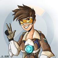 Overwatch: Tracer by Shimazun
