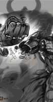 Asura's Wrath Process by Kanthesis