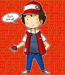 Red (Twitch Plays Pokemon) by ice-cream-skies