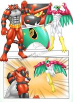 Incineroar and Hawlucha - TF 3/3