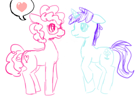 Filly Love by MoonGazerThePony