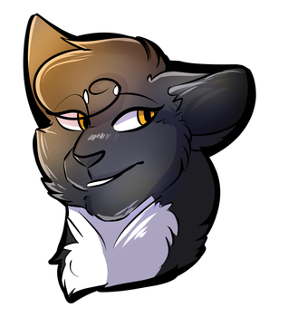 Nightclaw headshot by TheNightlySpirit