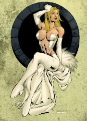 Emma Frost, White Queen colors by pauloskinner
