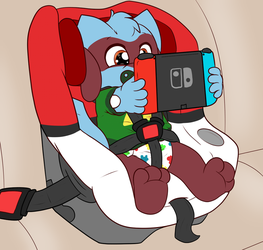 Road trip gaming(CM) by tailslover42