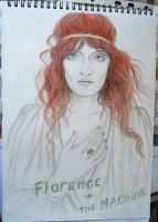 Florence Welch by SoDipole