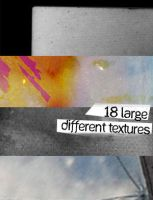 18 large different textures by Kiho-chan