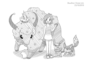 Commission: Zoey's Team by BluuKiss