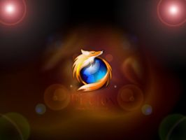 Firefox wallpaper by davdiana
