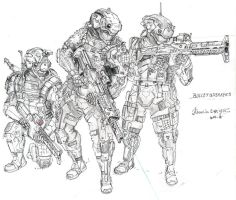 Bulletbreaker squad by HorcikDesigns