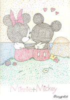 Mickey and Minnie by Rissygirl16
