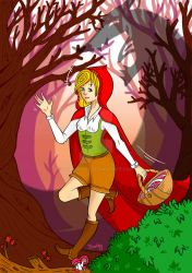 Petit Chaperon Rouge / Litlle red riding hood by Shalou973